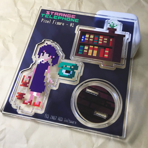 【受注生産 〜2017/8/8(火)】Pixel Figure 01   StrangeTelephone
