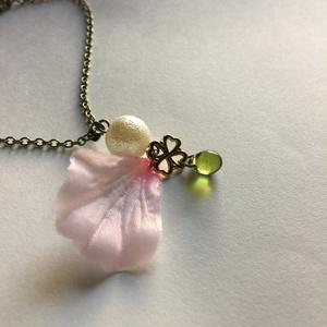 桜ネックレス-蓬-