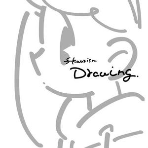 線画・ラフ本『fkaorism Drawing』