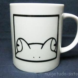 かえるかおマグカップ