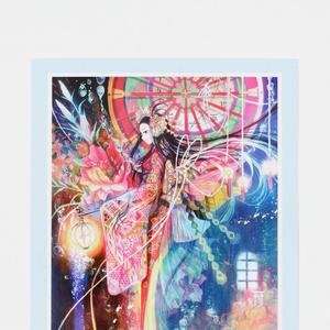 ポストカード◆C「宵闇の金魚姫」