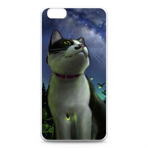 iPhoneケース「猫と天の川」(iPhone6 Plus用)