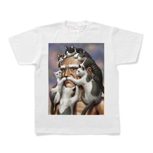 猫じじいTシャツ