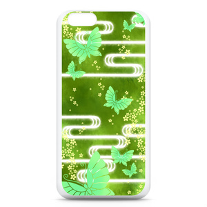 iPhoneケース(乱れ蝶)