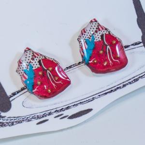 果汁滴るいちごの心臓/ピアス