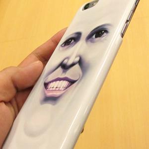 iPhoneケース(5,6,6 Plus用)「笑顔のままの君でいて」