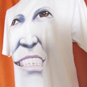 Tシャツ(男女兼用・S~XL)「笑顔のままの君でいて」