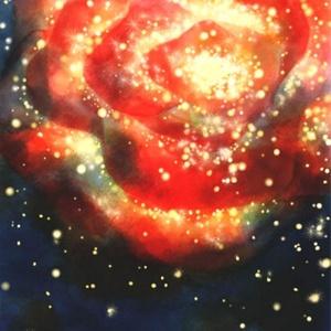 【ポストカード】ばら星雲