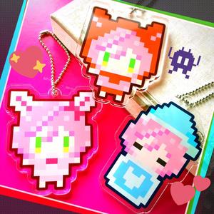 ♡NEMUPIKO Acrylic Keychain♡