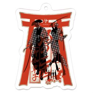【創作BL】鬼の二匹 アクリルキーホルダー(オンデマンド販売)