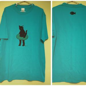 大人Tシャツ Lsize オリジナル猫キャラクター