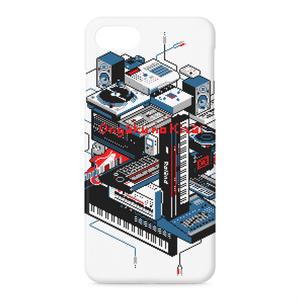 iPhoneケース - iPhone7 ドット絵DTM機材その2