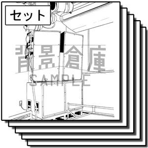アミューズメント施設の背景_セット4(ライブハウス)