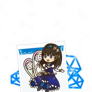 鷺沢文香アクリルキーホルダー (ブライトメモリーズver.)