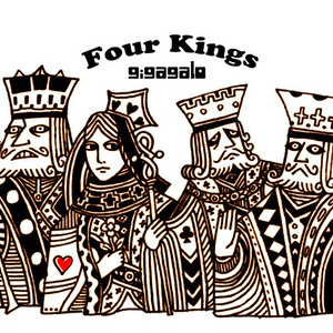 Four Kings / トートバッグ