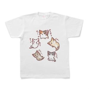 ねこTシャツ(なかよし)