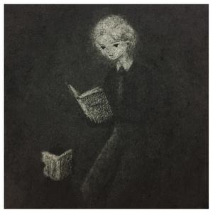 正方形イラストカード B