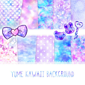 YUMEKAWAII BACKGROUND