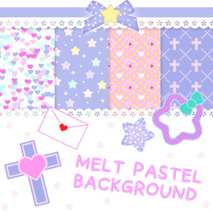 MELT PASTEL BACKGROUND
