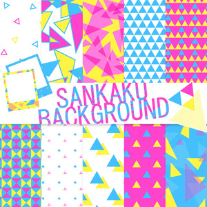 SANKAKU BACKGROUNDS