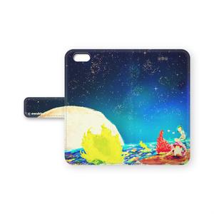 星うさぎの手帳型iPhoneカバー