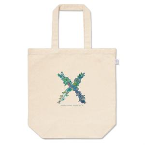 トートバッグ  niniracheo-font「X」