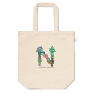 トートバッグ niniracheo-font「N」