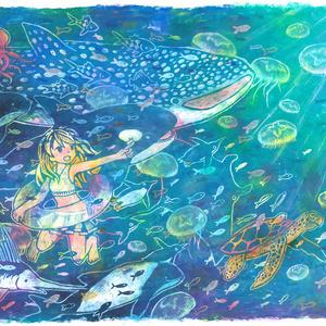 海のブランケット(受注販売)