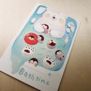 ポストカード(お風呂)