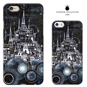 iPhoneハードケース  白の城の街