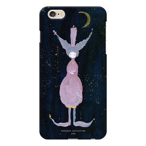 月の少女 iPhoneハードケース