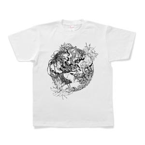 白Tシャツ「円花」
