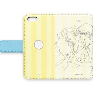 同級生 オリジナルスマートフォンケース(黄色)