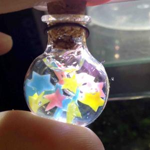星の瓶詰ストラップ