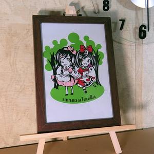 兎時メア 「童話と夢のアリス」 ふしぎの国のアリス 切り絵アート