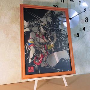 葉月玉兎「戦艦大和」 艦これ 切り絵アート