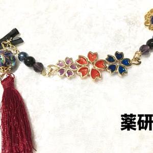 【刀剣】桜のストールクリップ