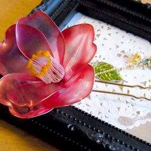 赤椿の簪【二本足】