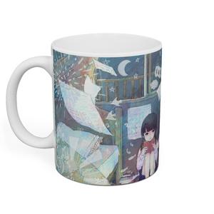 「文学 in the 少女」マグカップ