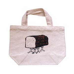 パンを運ぶ人々のランチトート