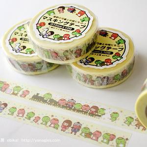 遠野の河童(黄色) マスキングテープ