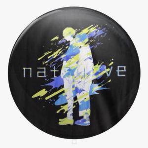 【ランダムガチャ】natsueve あたり付き缶バッジ