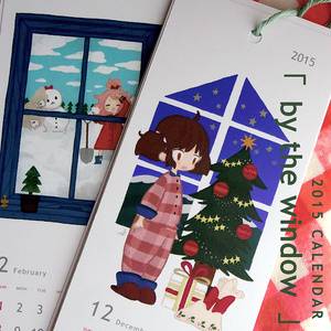 2015年カレンダー「by the window」