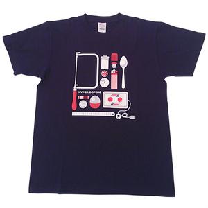 HYPER DOPING Tシャツ(ネイビー)