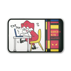 眼鏡のかぼちゃん モバイルバッテリー (タイピング:モダン)