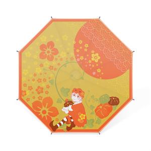 眼鏡のかぼちゃん 卓上ミニ傘