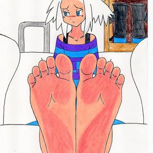 ポケモンガールズの足裏