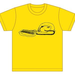 Tシャツ/ピアニカ (黄)