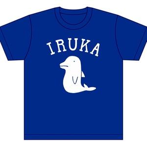 Tシャツ/IRUKA (青)
