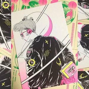 【電Q】ポストカード/横顔
